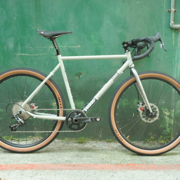 WOHO Gravel bike整車組裝 650x47c