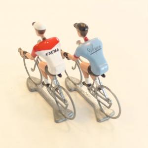 比利時自行車手金屬模型Alcyon/Faema